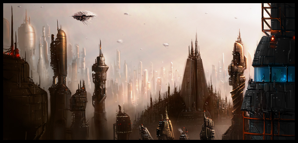 FUTURE cities of the FUTURE!!!